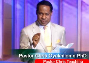 Pastor Chris Teaching