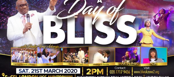 A Day of Bliss with Pastor Tony Aduroja